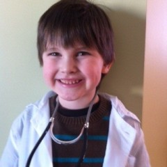 His dream?  He wants to be a doctor.