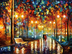 RAIN_RUSTLE___LEONID_AFREMOV_by_Leonidafremov