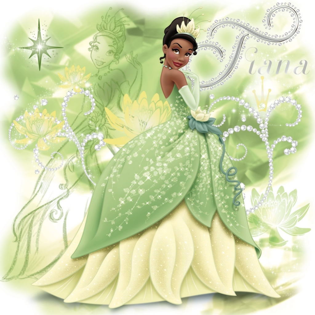 It's just a graphic of Crush Tiana Frog Princess